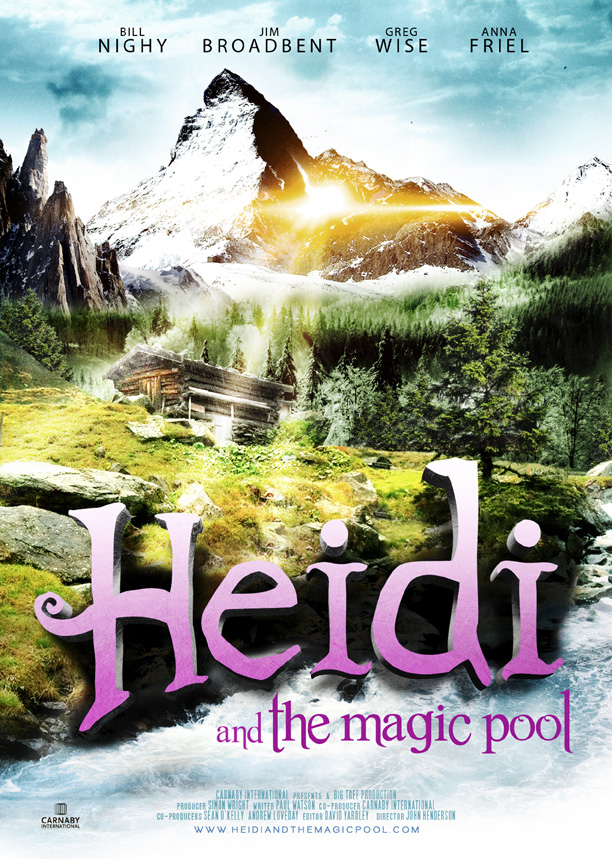 Heidi and The Magic Pool - Carnaby International Sales & Distribution - UK Film