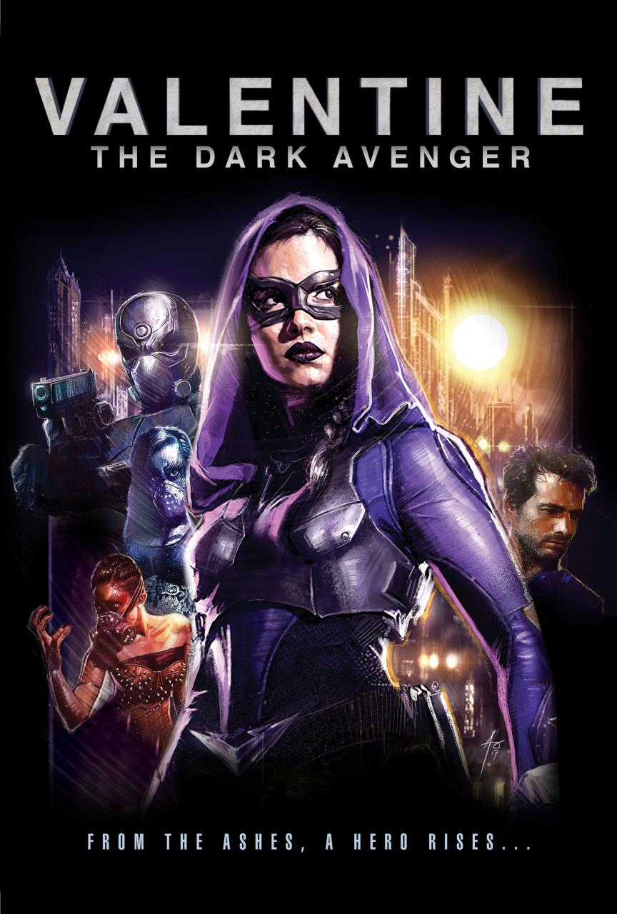 Valentine: The Dark Avenger - Carnaby International Sales & Distribution - UK Film