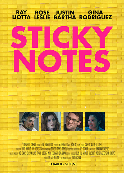 Sticky Notes - Carnaby International Sales & Distribution - UK Film