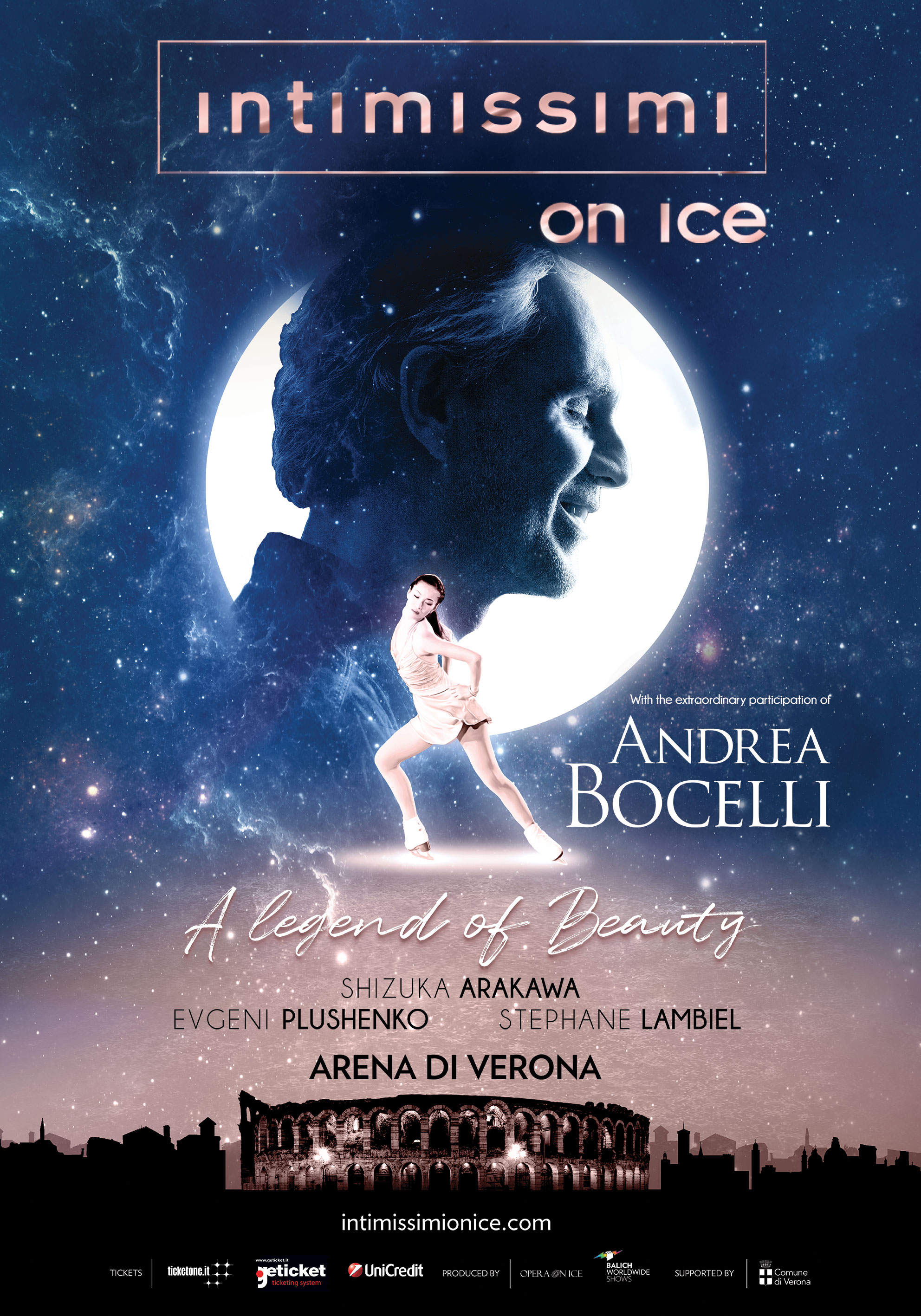 INTIMISSIMI ON ICE WITH ANDREA BOCELLI - Carnaby International Sales & Distribution - UK Film